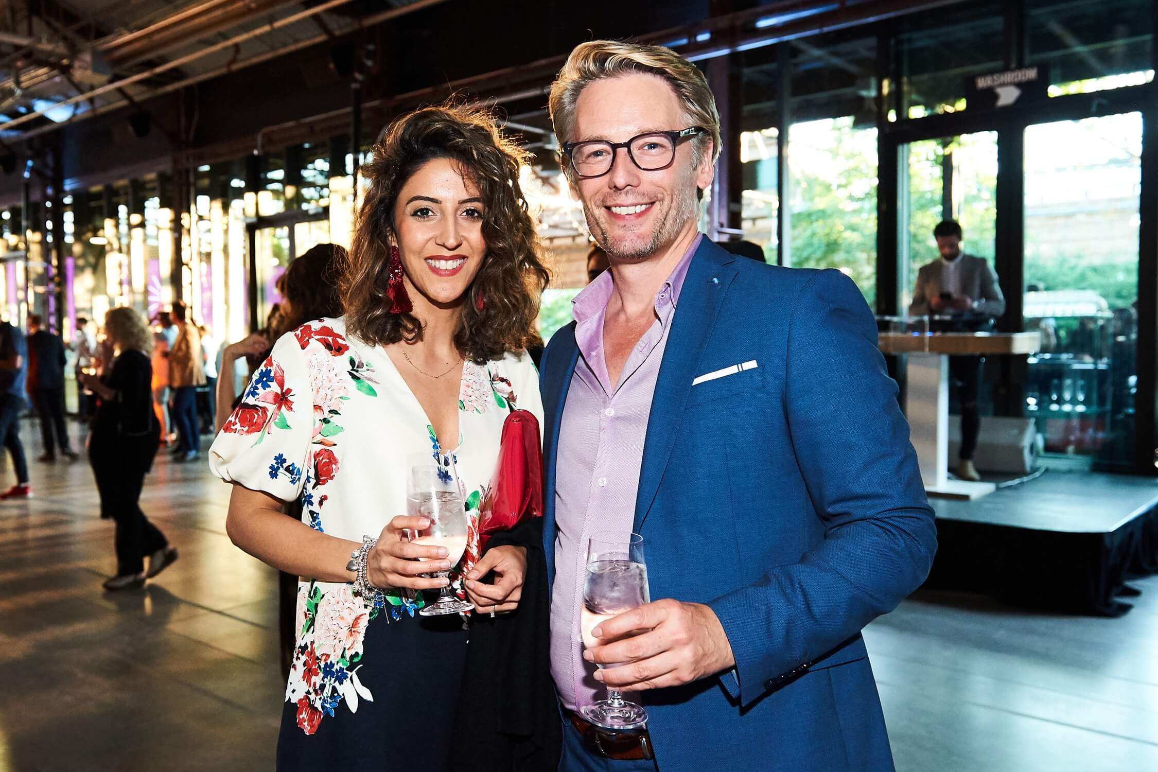 Interior designer Amanda Radji, left, and guest, AZ Awards 2019: Scenes from the Gala
