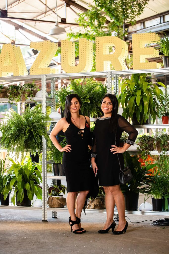 Arriving all the way from Peru, Galia Fuertes and Gladys Lapeyre were at the gala to represent LLATAS, which was nominated in the Social Good category, AZ Awards 2019: Scenes from the Gala