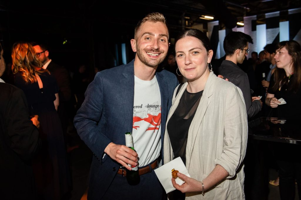 Design journalist Eric Mutrie and DesignTO's Robyn Wilcox, AZ Awards 2019: Scenes from the Gala