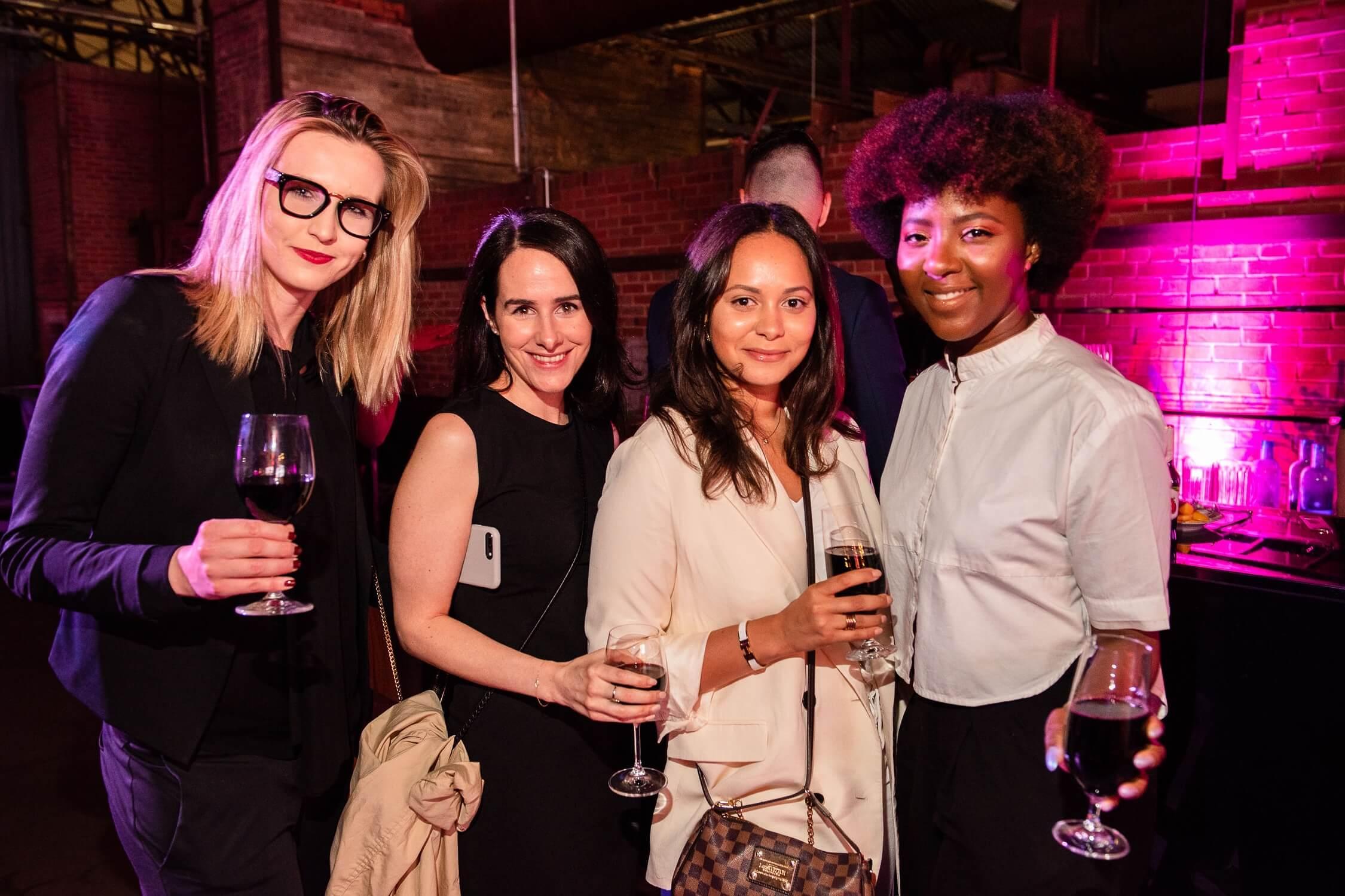 Gala guests Dana Bronikova, Dayna Fucarino, Yolanda Senik and Chinny S., AZ Awards 2019: Scenes from the Gala