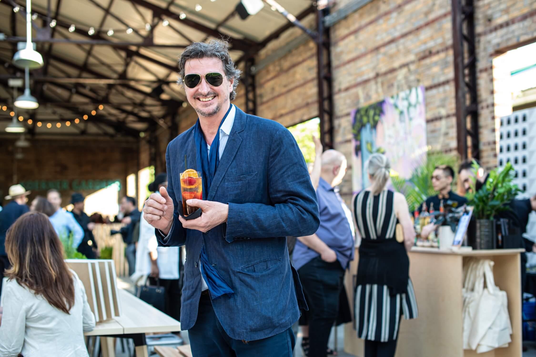 The always-debonair artist Bruno Billio, AZ Awards 2019: Scenes from the Gala