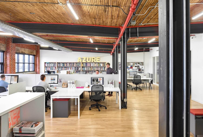 Azure's New Office