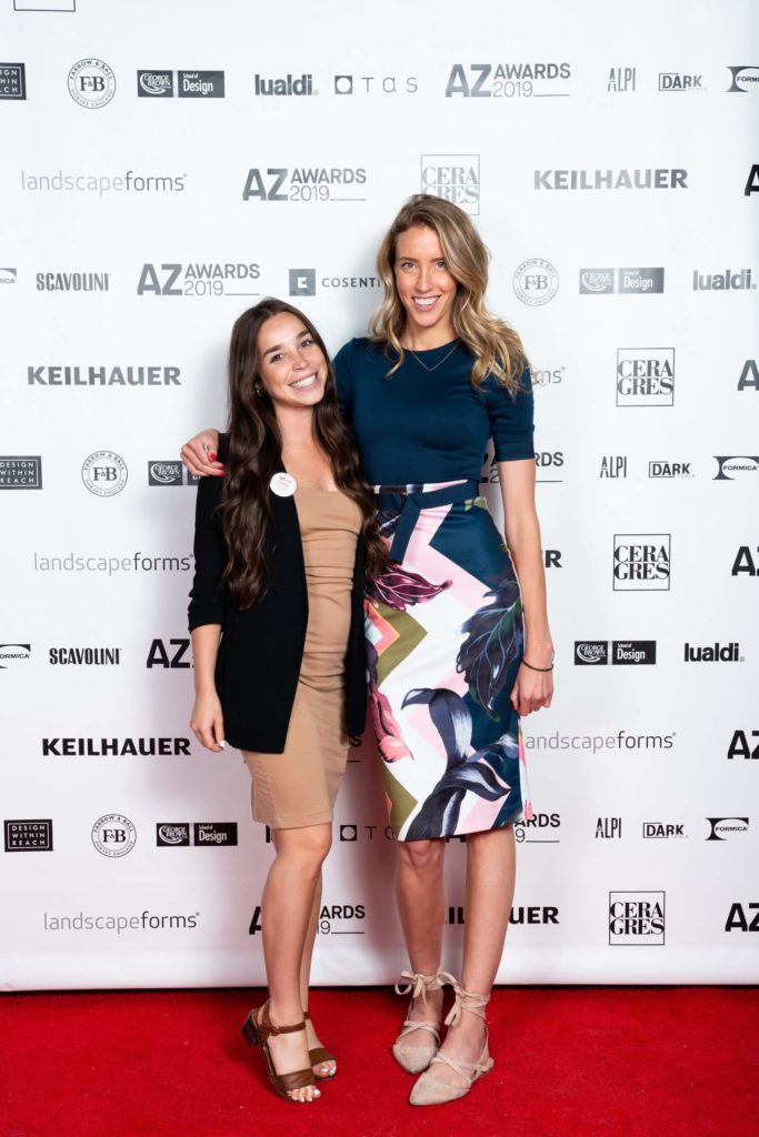 Design Within Reach's Kelsey Chang and Tessa Bain, AZ Awards 2019: Scenes from the Gala