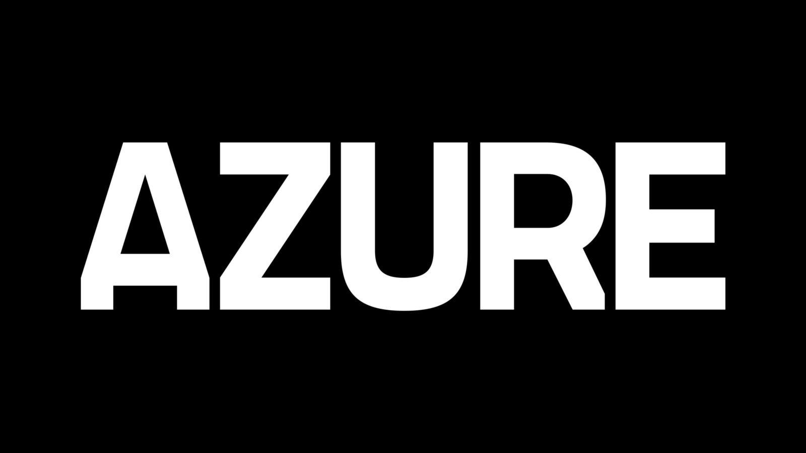New Azure Website