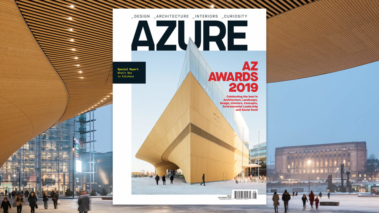 Out Now, July August Issue, Azure, AZ Awards Issue