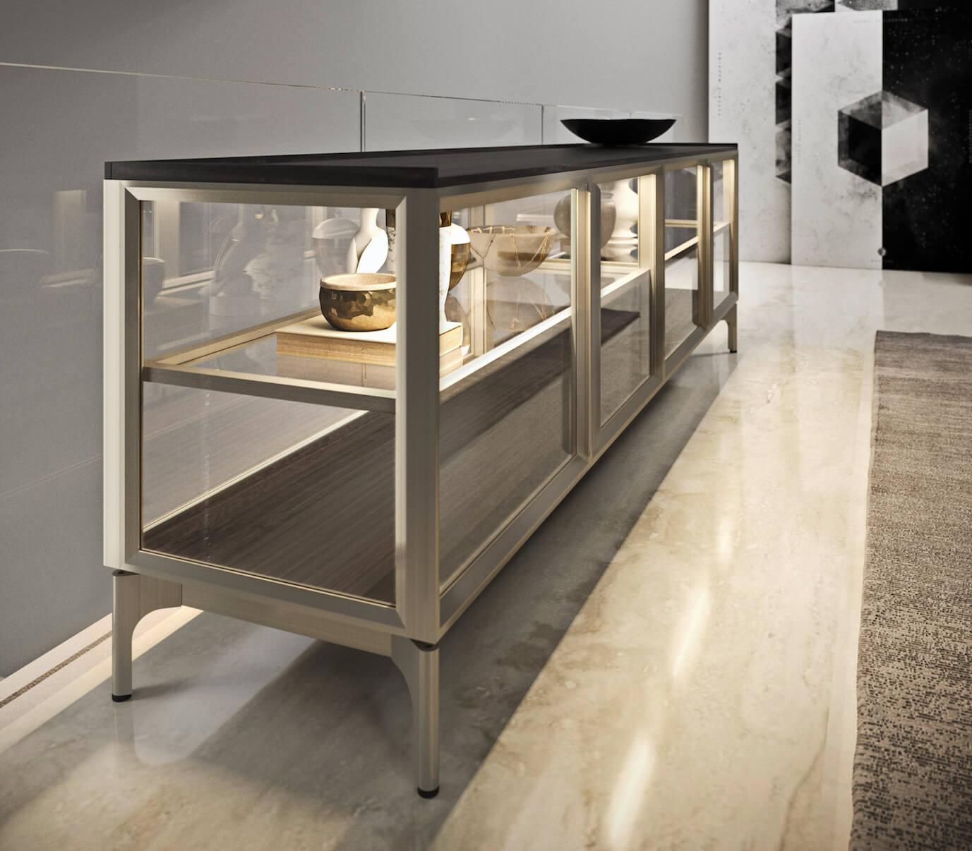 Riquadro Storage System by Snaidero