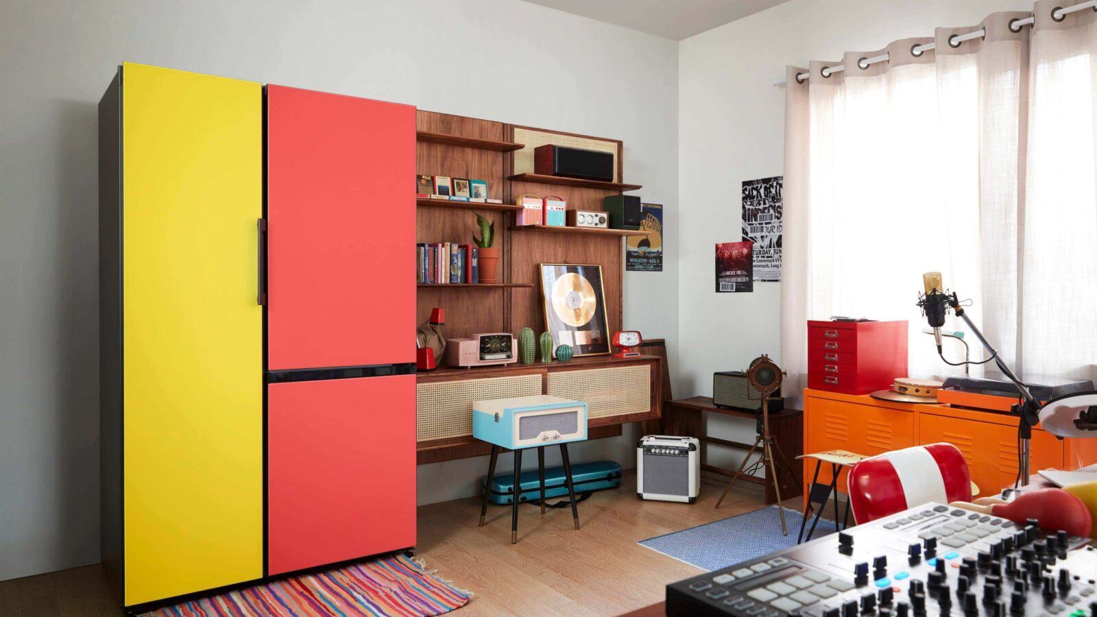 Samsung BESPOKE refrigerators