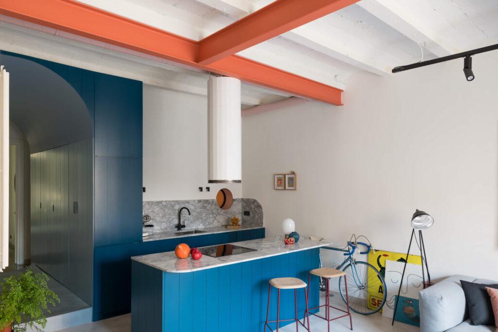 Andrea and Matteo Serboli, Barcelona kitchen