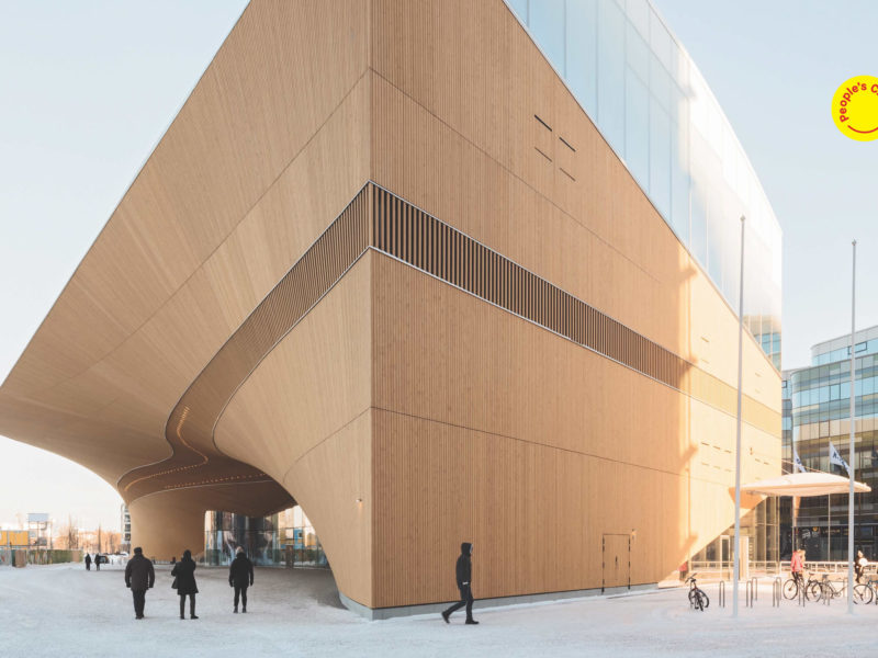 Helsinki Central Library Oodi, AZ Awards