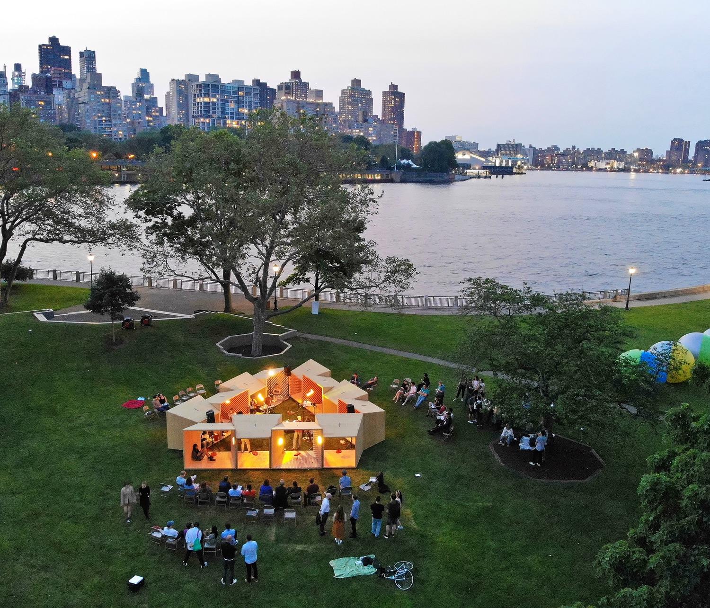Summer Pavilions of 2019 - Salvage Swings