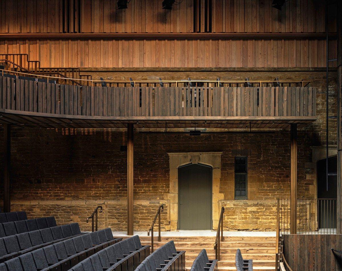 Nevill Holt Opera, Stirling Prize, RIBA, 2019