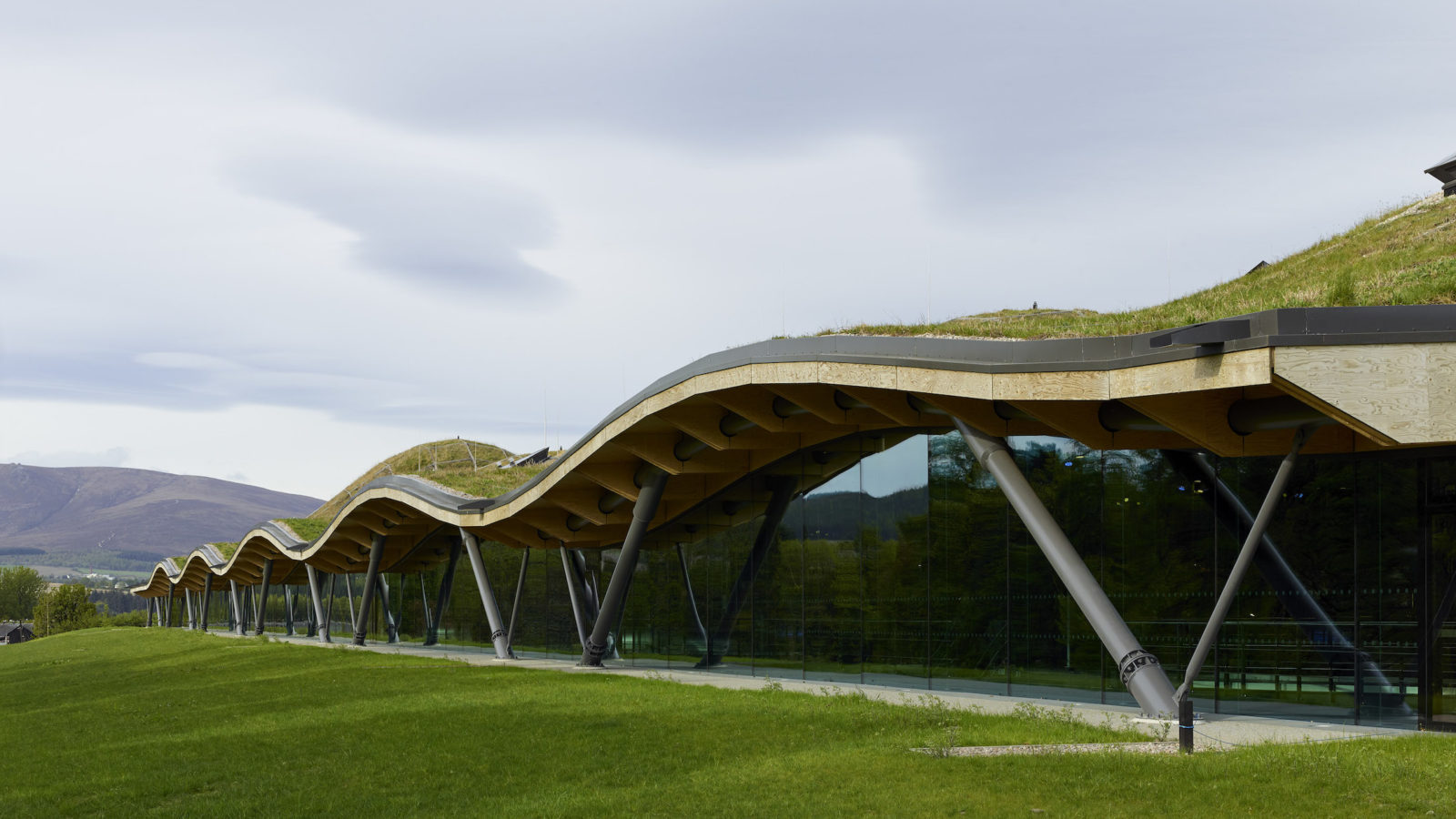 Macallan Distillery and Visitor Centre, Rogers Stirk Harbour + Partners, RIBA Stirling Prize 2019