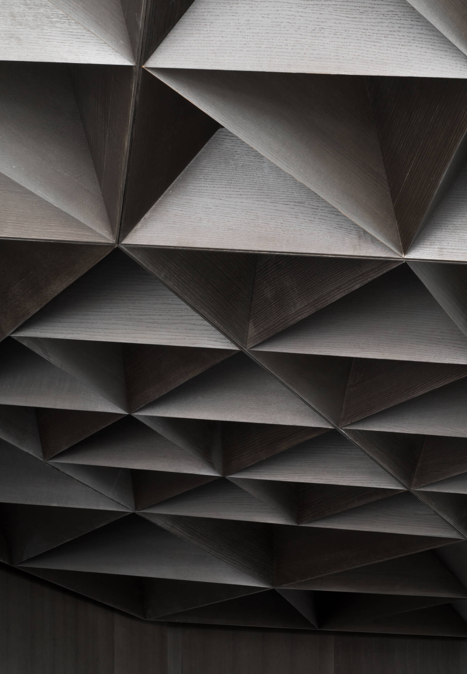 A close-up of the ceiling at Arthur Restaurant Toronto