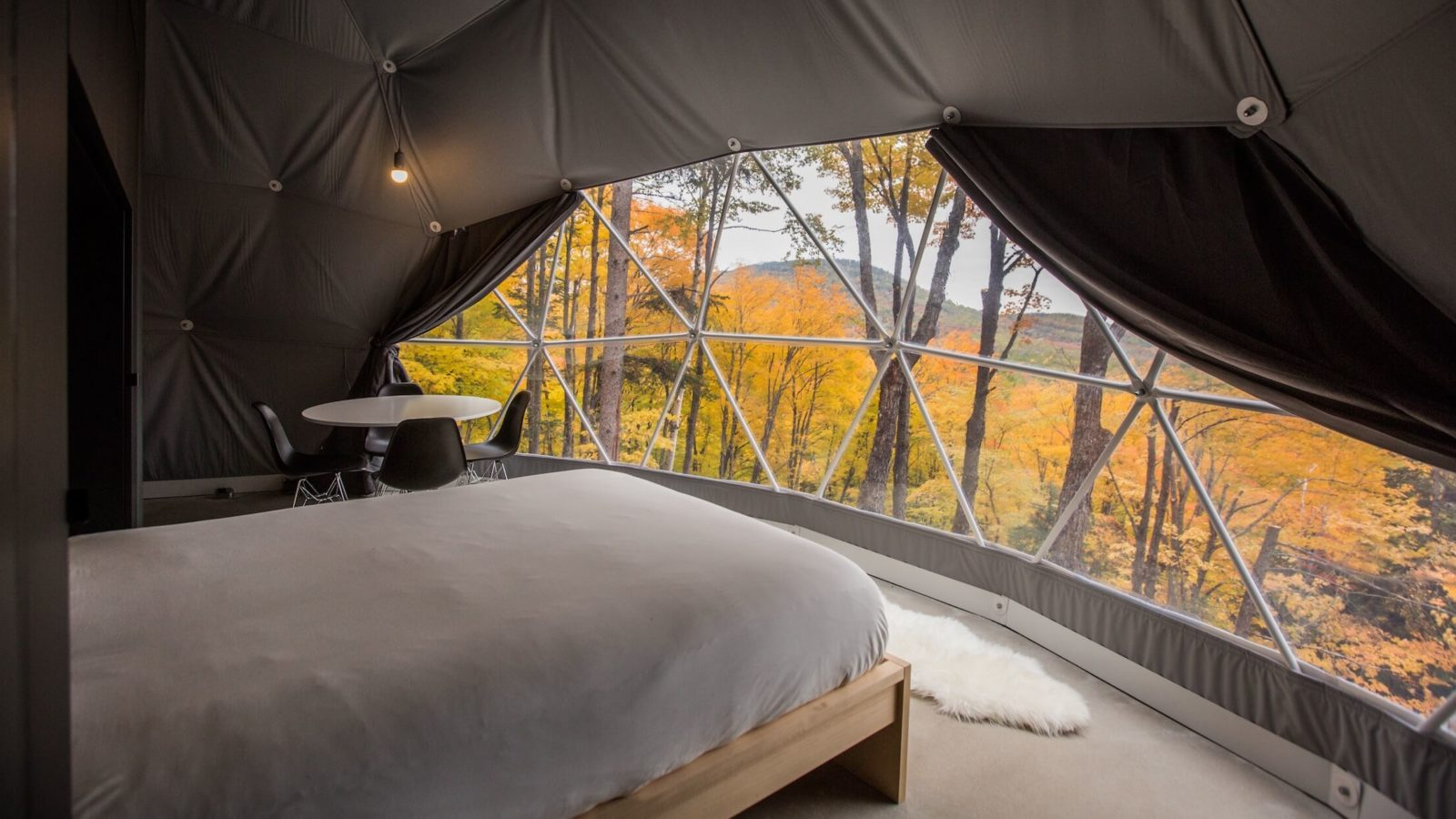 Domes Charlevoix, luxury camping, glamping
