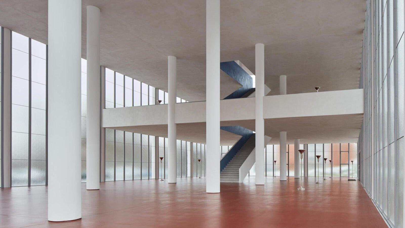 Interior, Tomas Bata Memorial Zlin