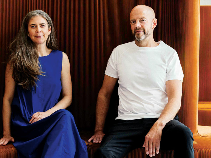 Stephanie Forsythe and Todd MacAllen of Molo