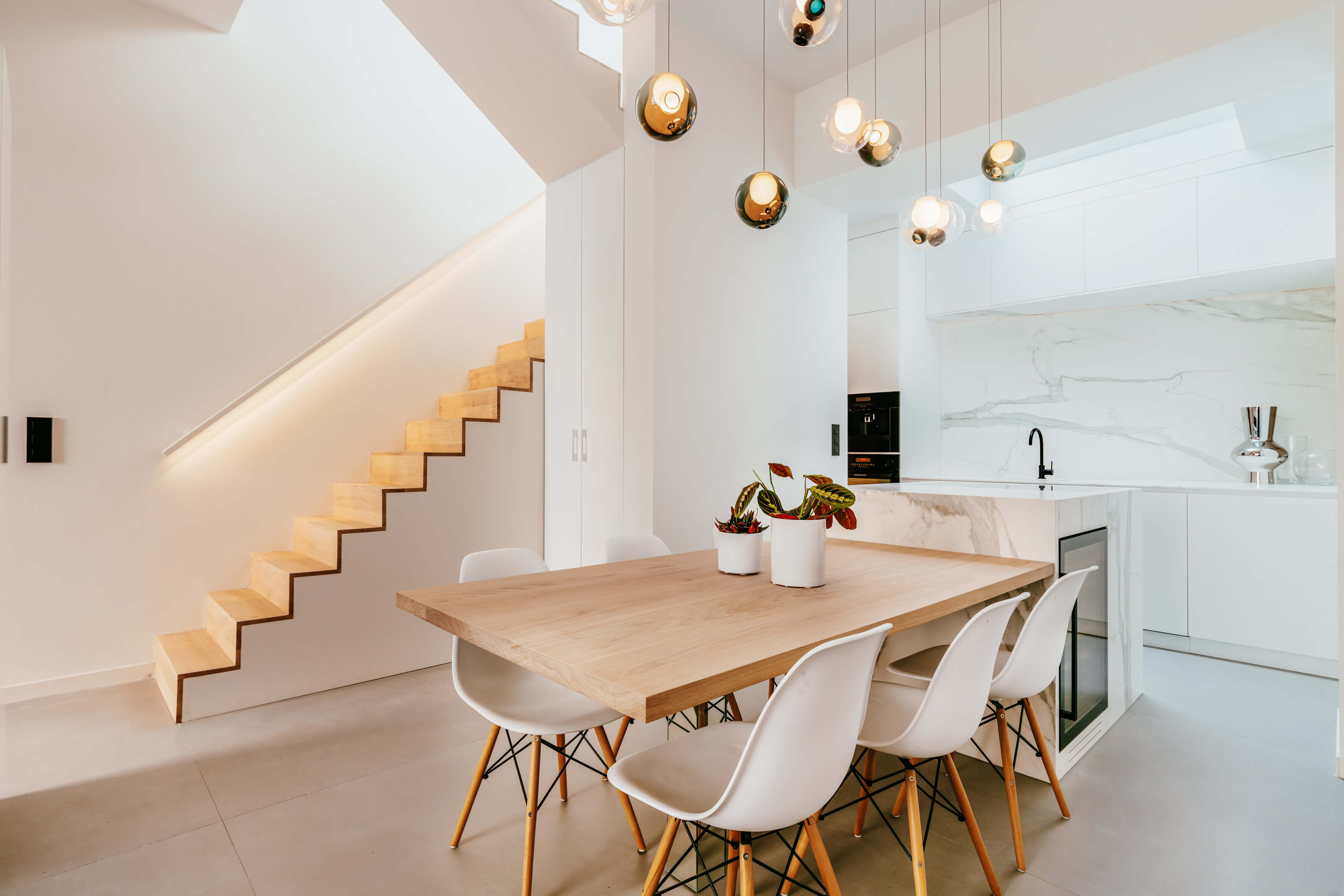 Neolith Sintered Stone in a Brussels apartment