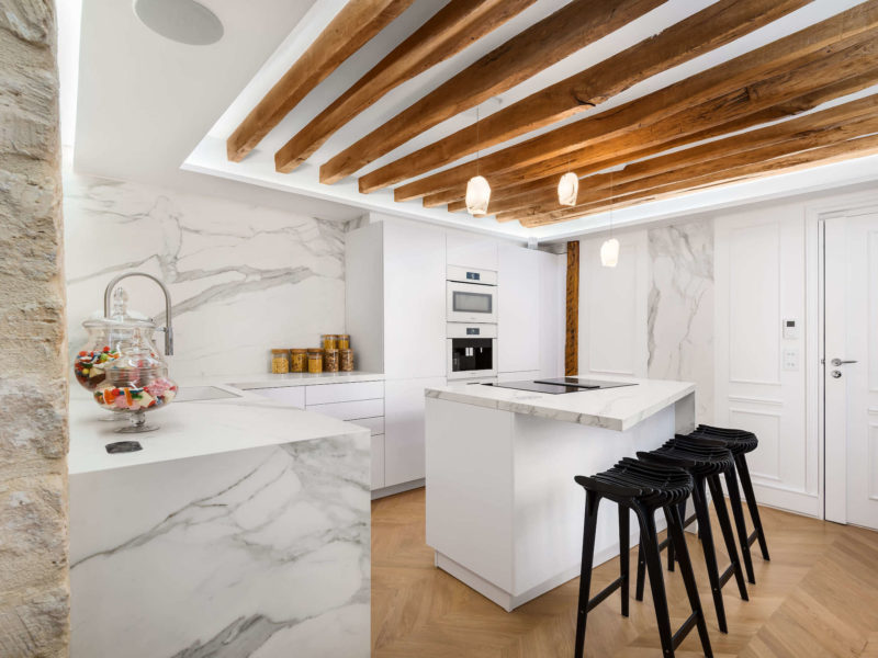 Neolith Sintered Stone in the home of Cedric Grolet