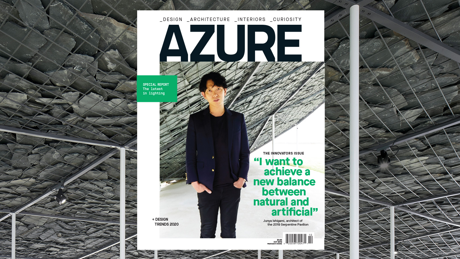 Out Now: October Issue of Azure