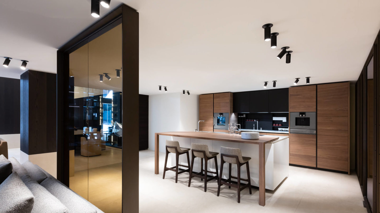 Poliform Vancouver, the kitchen in the Poliform Home