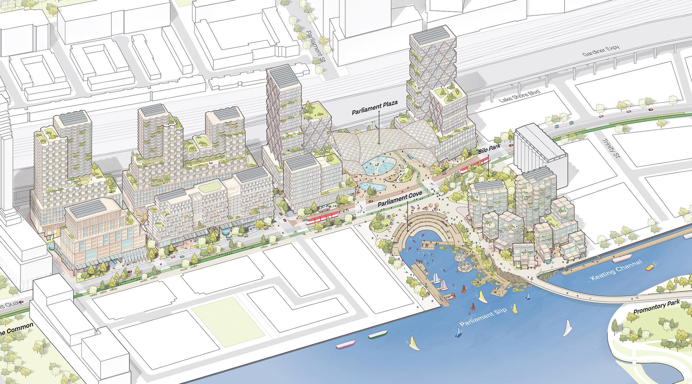 Sidewalk Toronto design model