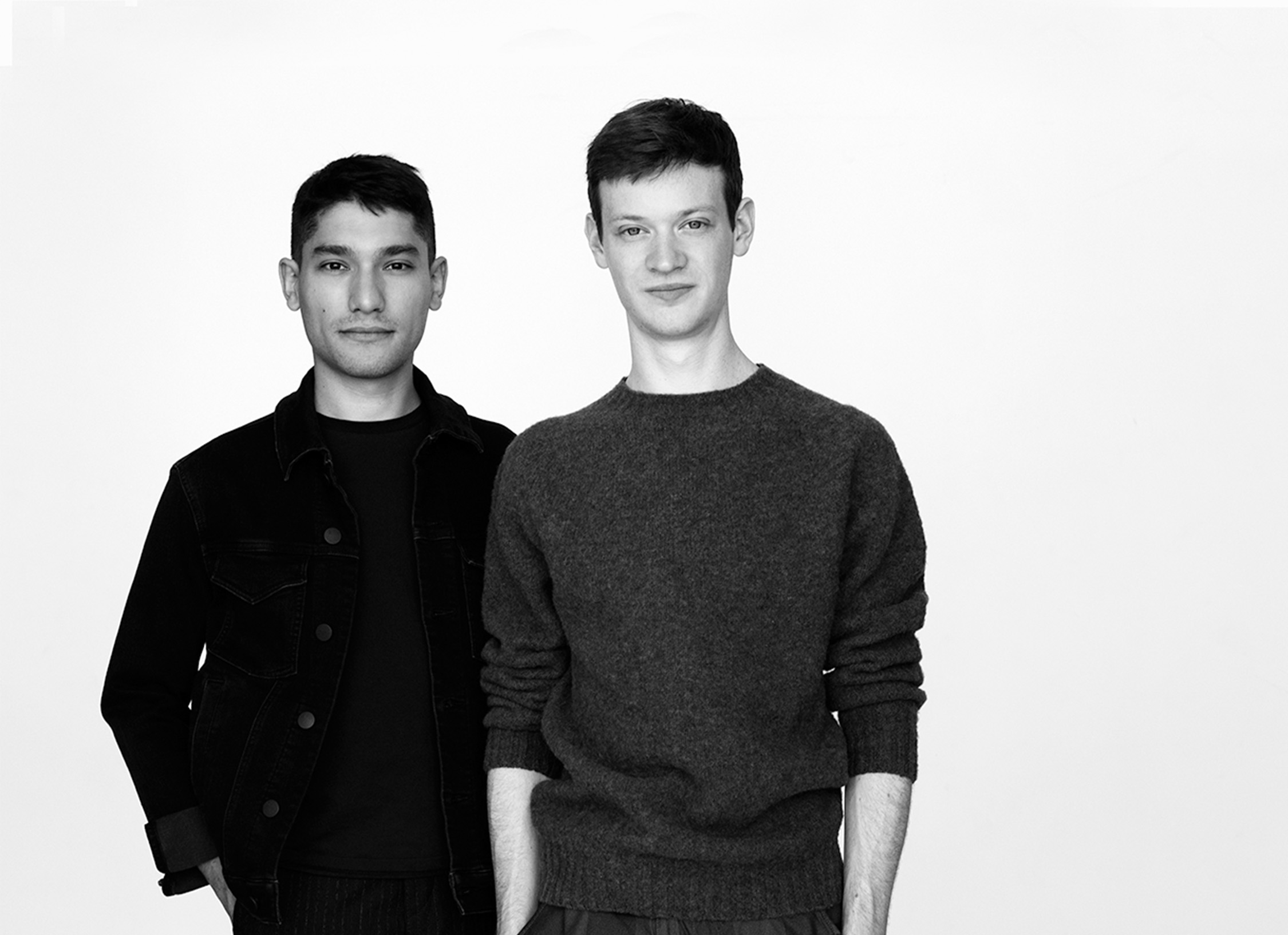Trueing duo Aiden Bowman (left) and Josh Metersky launched the Cerina collection (above) at this year's NYCxDesign.