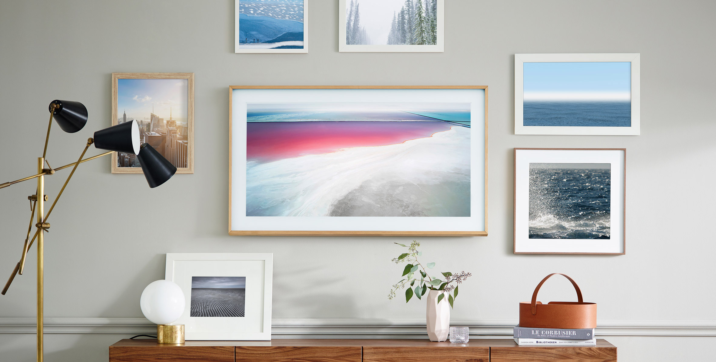 Samsung Frame by Yves Behar, television designs