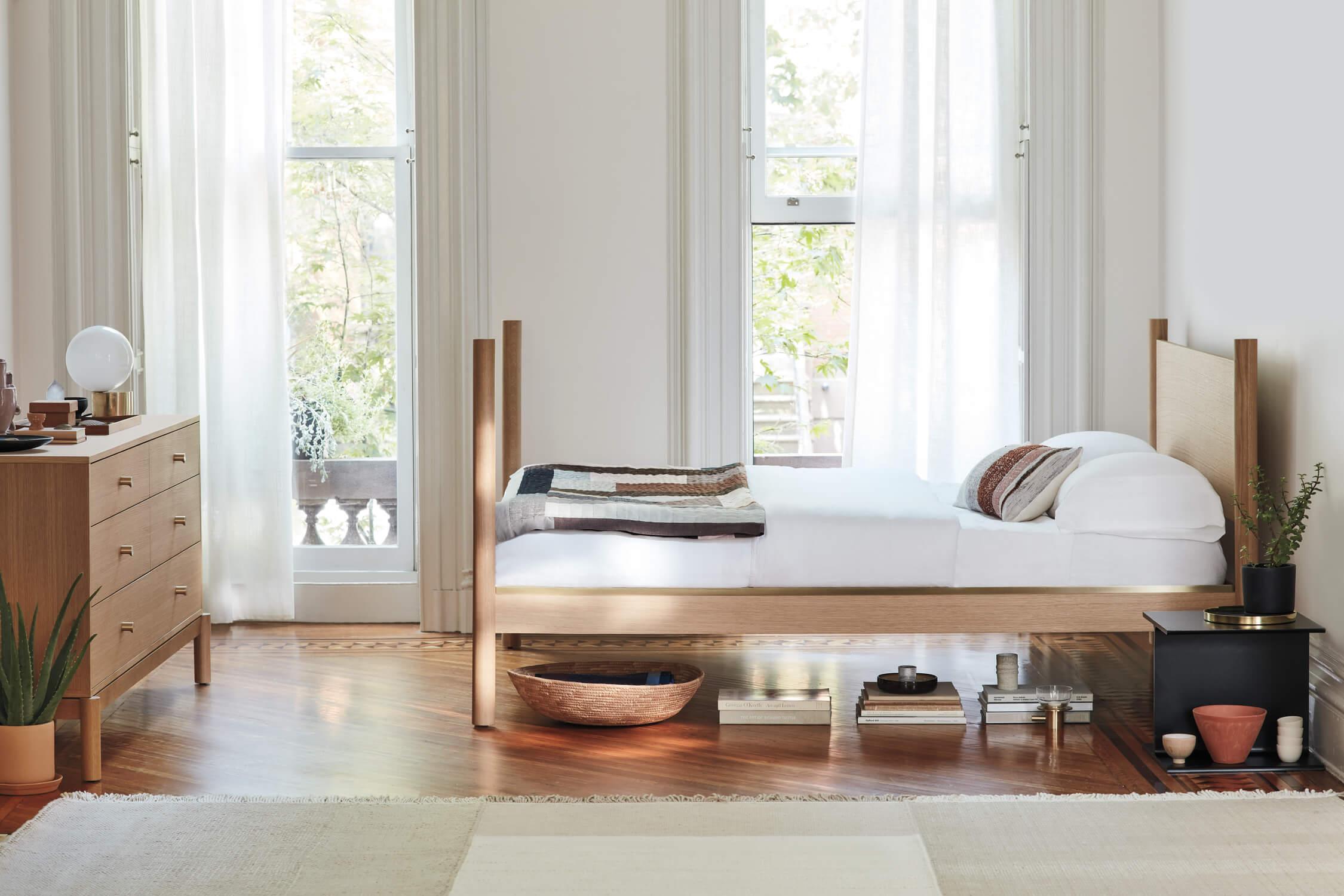 Pillar bedroom group azure magazine azure magazine