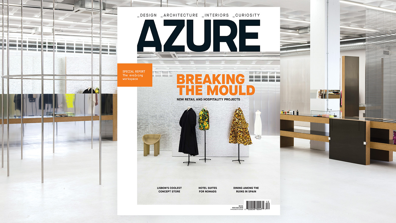 Out Now, November/December, Retail + Hospitality