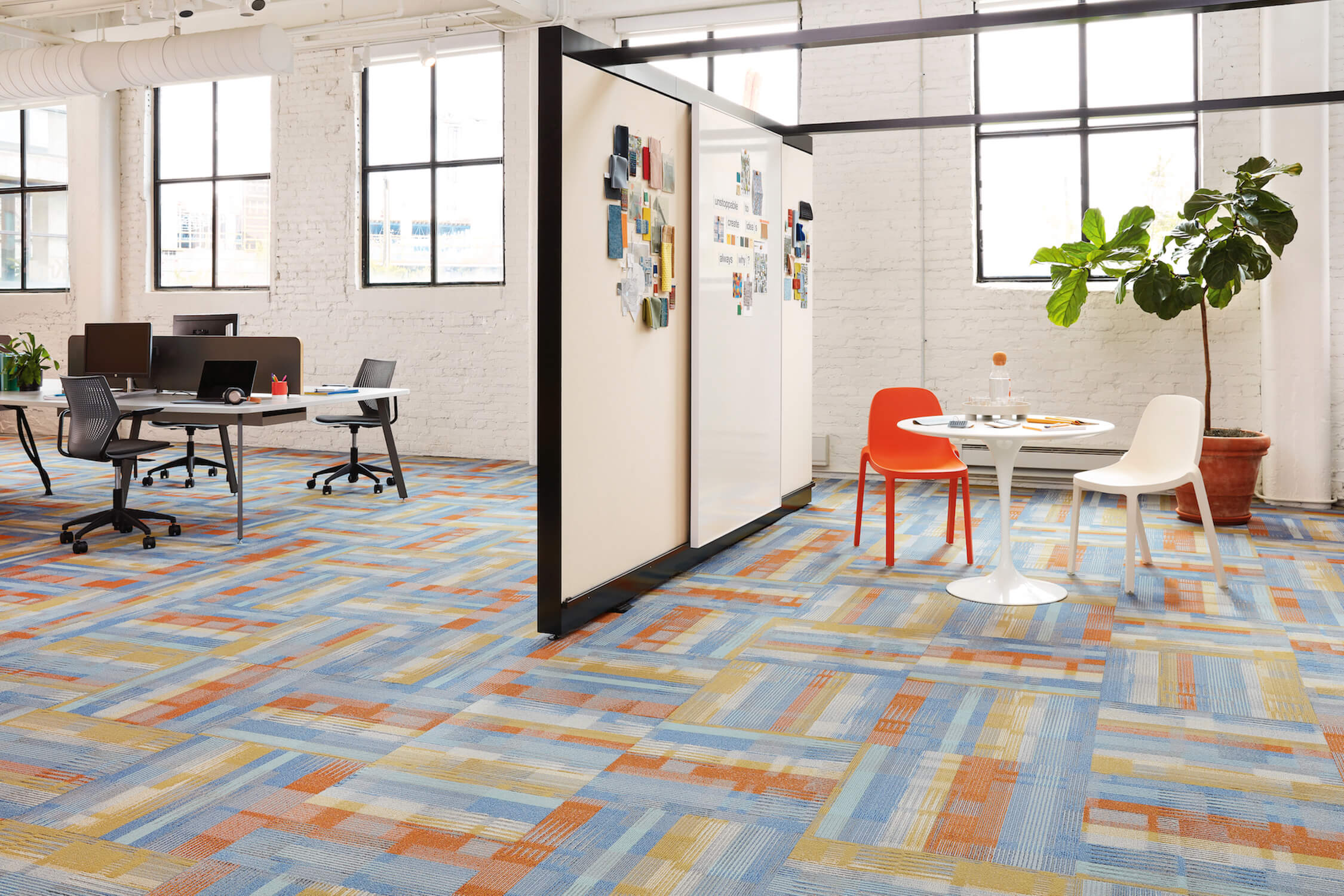 Campus Carpet Tiles, Shaw Contract