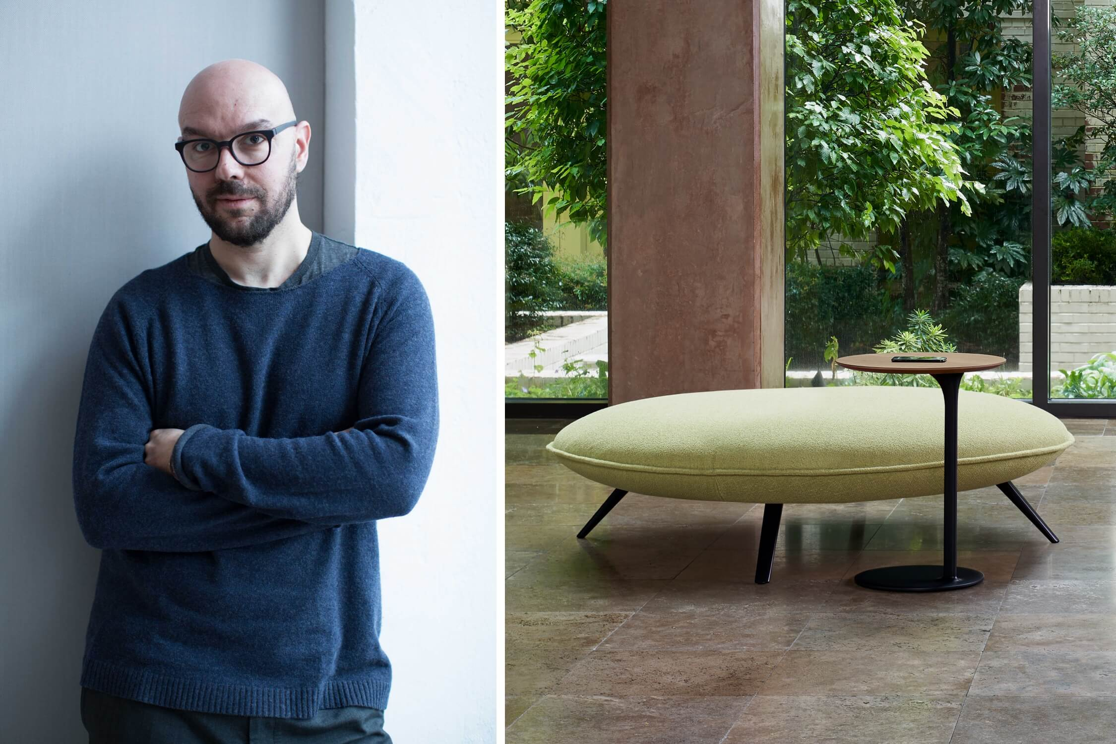 Luca Nichetto and his new collection for Bernhardt Design, AZ Awards 2020