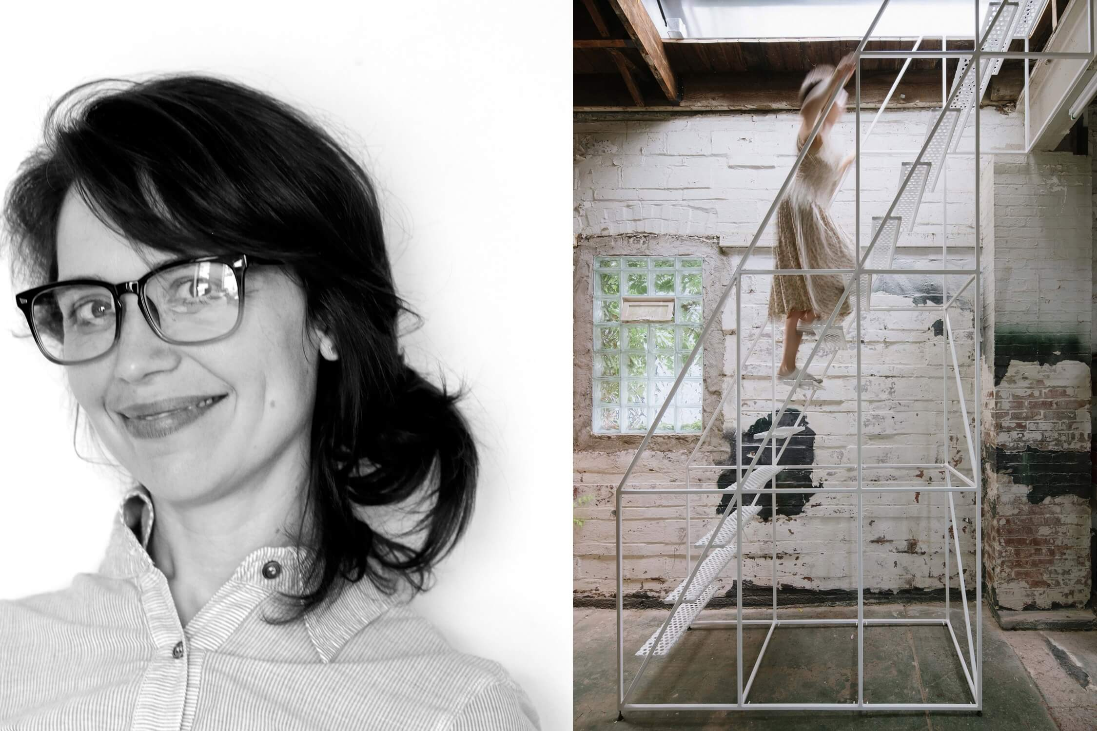 "Stephanie Davidson and her firm's AZ Award-winning ""Big Space, Little Space"" project in Buffalo, New York, AZ Awards 2020"