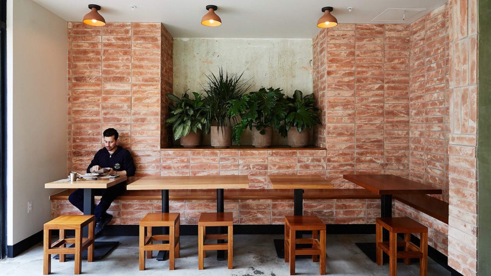 Loqui Taco Restaurant by Wick Architecture, interior view