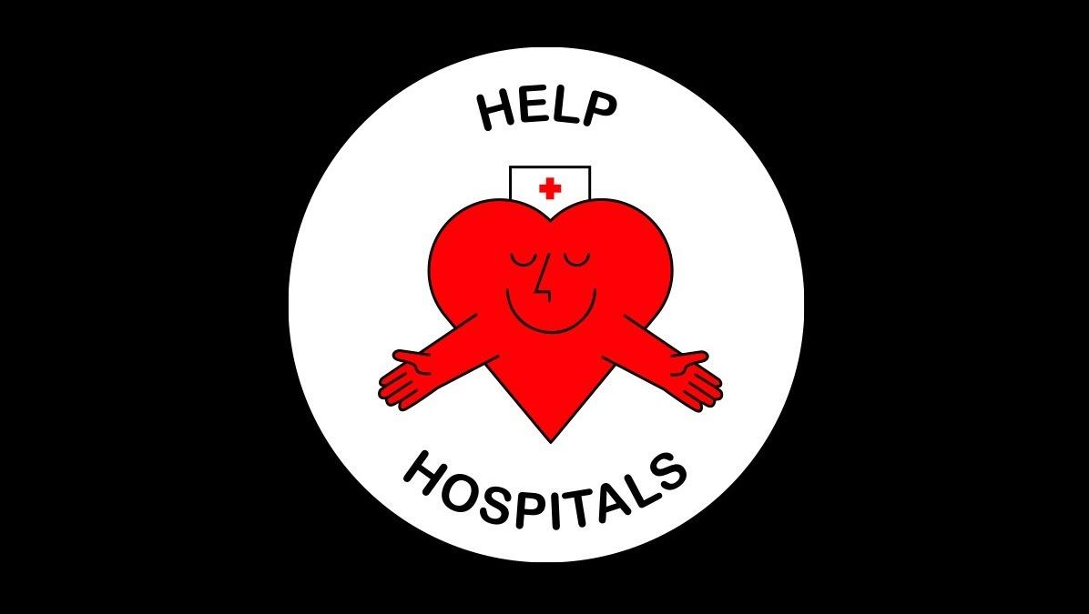 Help Hospitals logo, Yabu Pushelberg
