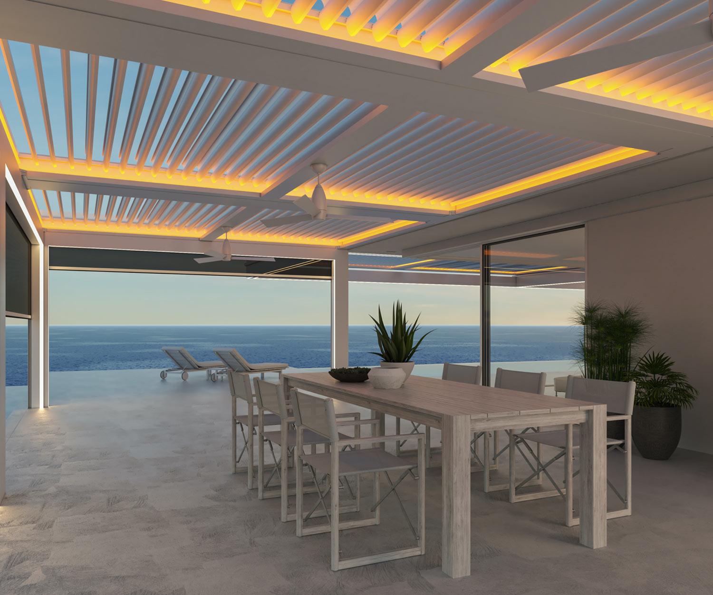StruXure Outdoor, dining room