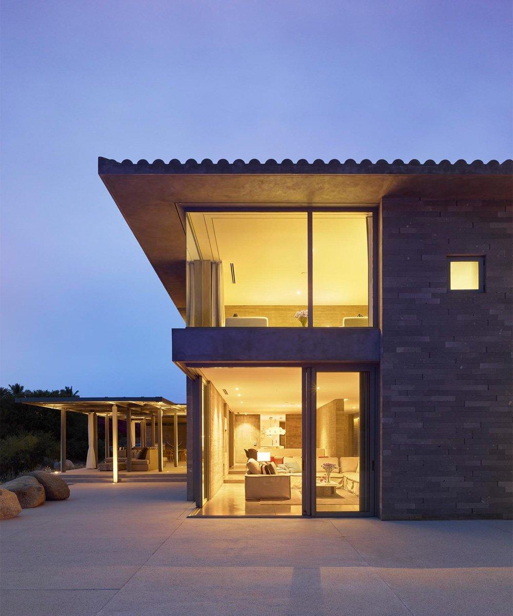 Casa Escondida external view into living area