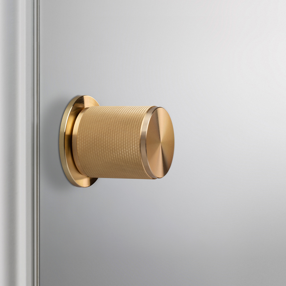 Buster and Punch doorknob in brass
