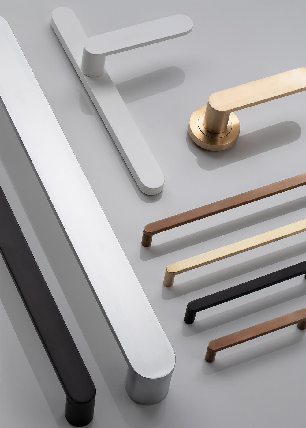 Designer Doorway doorknobs in a variety of finishes