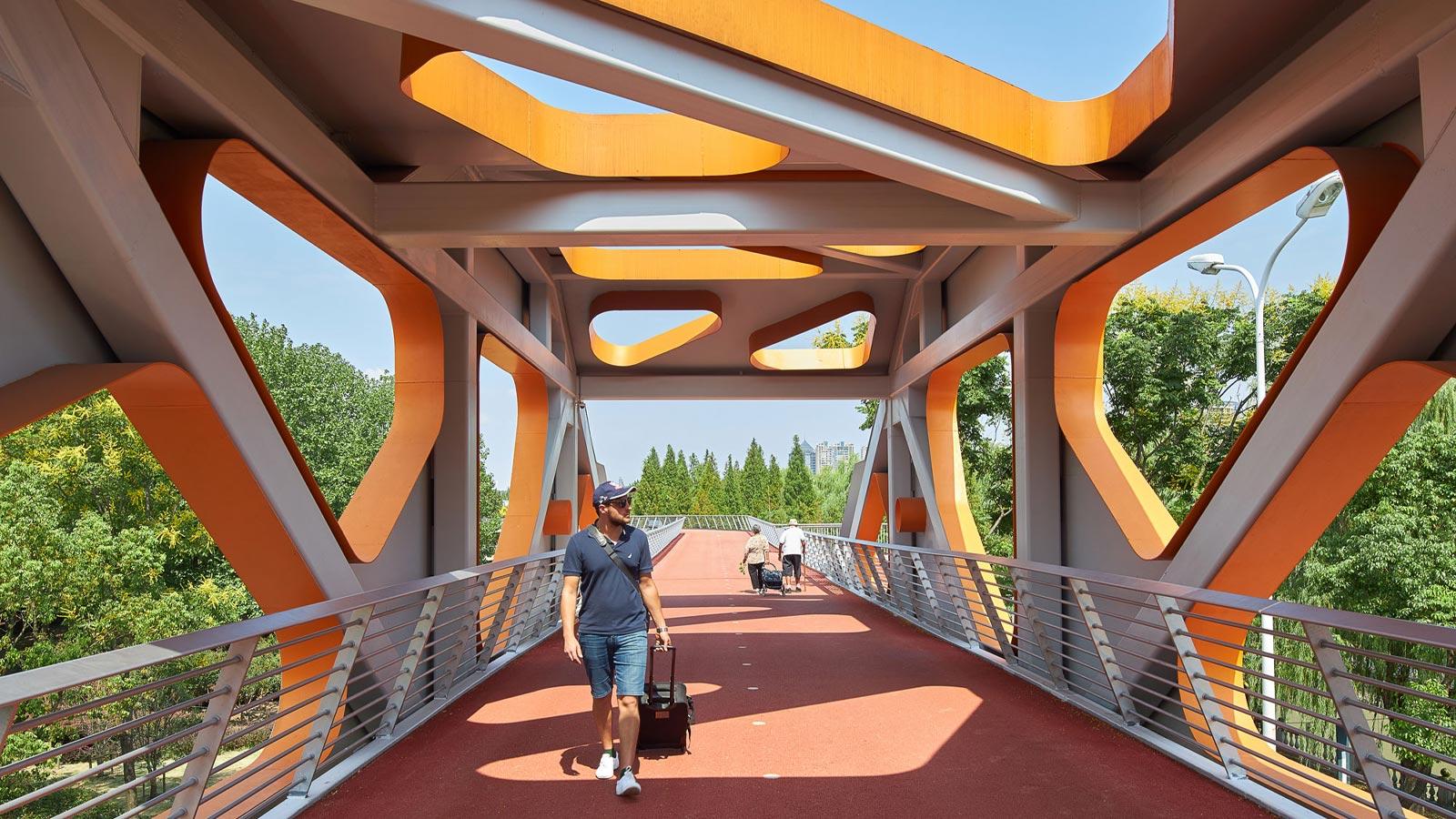 Jiangyin Greenway bridge