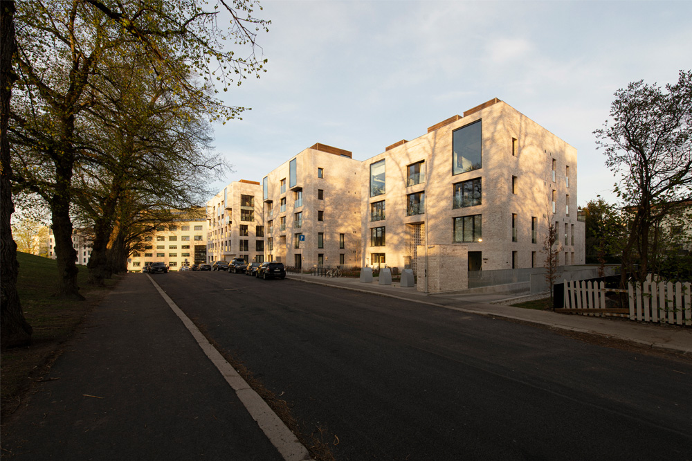 Pilestredet Apartments exterior view