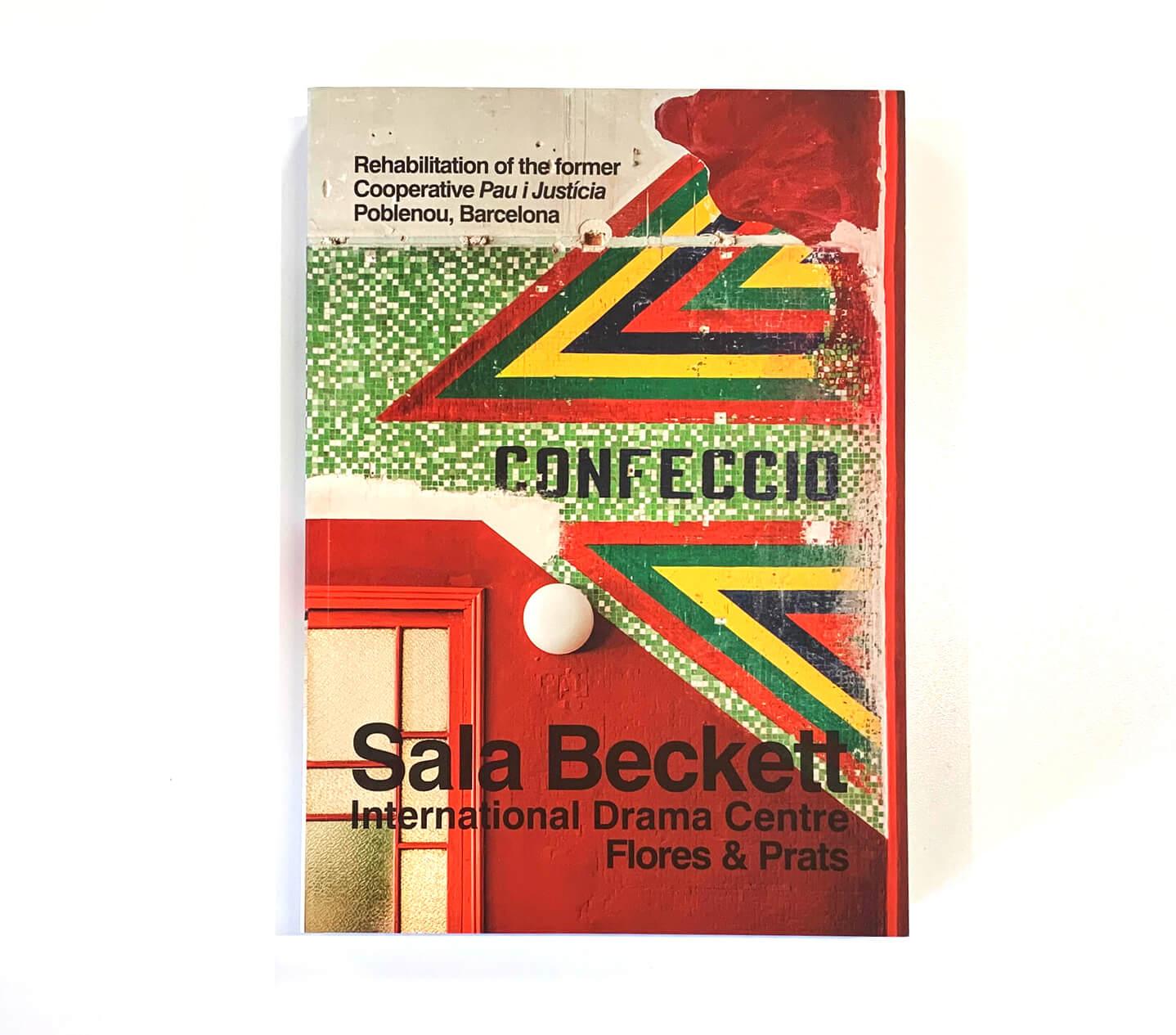 Book cover: International Drama Centre by Flores & Prats, Sala Beckett