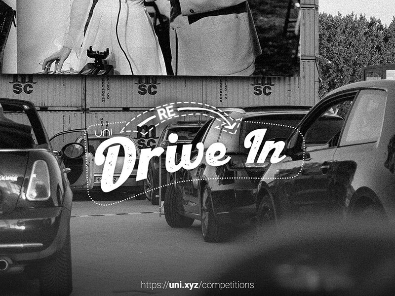 Re-Drive In, a design competition seeking proposals for a drive-in movie theatre in Saudi Arabia