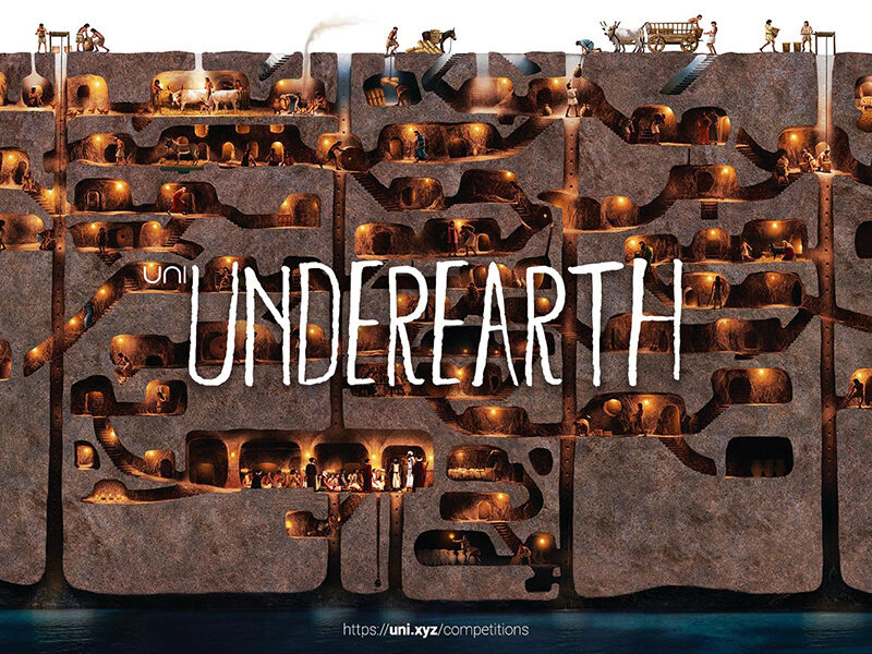 Underearth, an architectural competition seeking proposals for an underground museum in Turkey