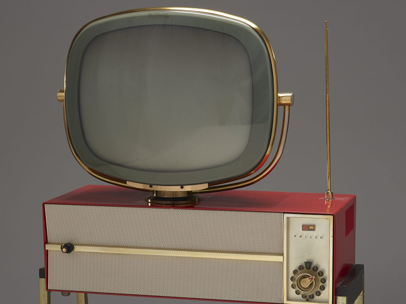 "Predicta ""Princess"" television, c. 1959 Metal, plastic, pigment, electronic components"