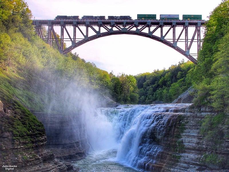 Portageville Bridge Replacement, winner of the 2020 Merit Award for Major Span