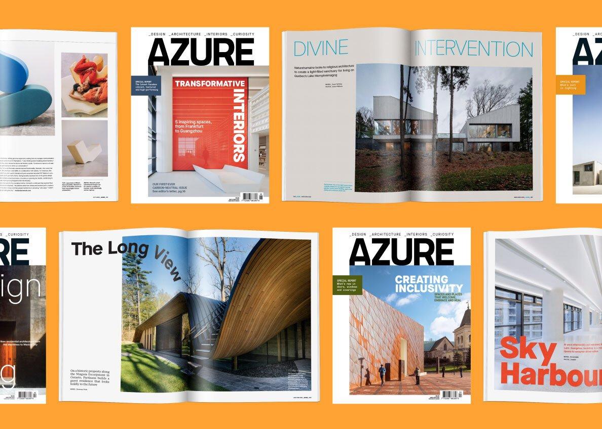 Azure issues on orange background
