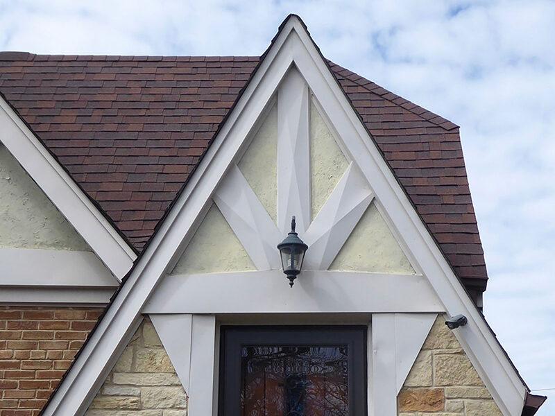 Detail of Galewood bungalow