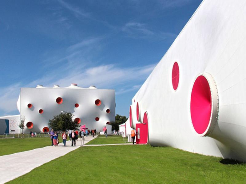 Olympische Schießsporthalle, magma architecture