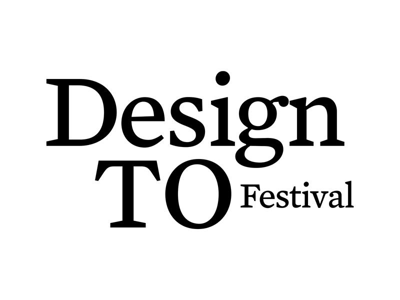 DesignTO Festival in black text on white background