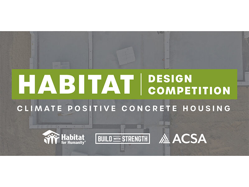 Habitat Design Competition in green rectangle on grey background
